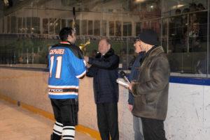 Хоккеисты Мичуринского завода «Прогресс» показали отличную игру