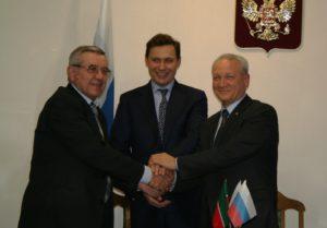 Тамбовщину посетил председатель Правления машиностроительного кластера Республики Татарстан Сергей Майоров