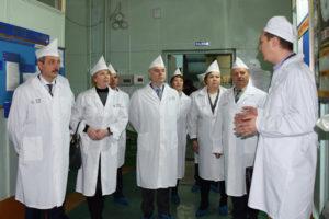 Делегация Тамбовского Государственного Технического Университета изучила работу Мичуринского завода «Прогресс»