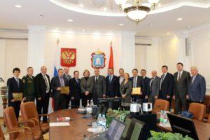 Первое заседание Попечительского совета ТГТУ состоялось в администрации Тамбовской области