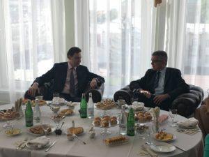 Вице-губернатор Тамбовской области встретился советником Посольства Австрийской Республики в Российской Федерации