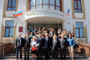 В Тамбовской областной Думе наградили победителей конкурса на разработку лучшего эскизного проекта мемориала памяти воинам-землякам