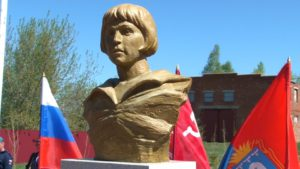 Памятник Тамаре Дерунец открыт на ее родине в Бондарском районе