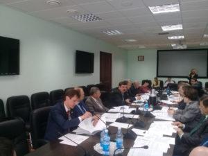 Заседание комитета по промышленности, строительству, транспорту, связи и развитию предпринимательства областной Думы