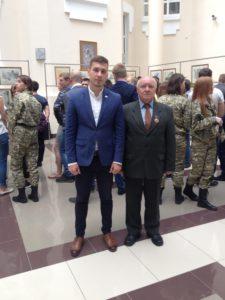 Представители Тамбовского Регионального отделения приняли участие в открытии выставки картин в областной Думе