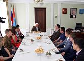 Координатор молодежных проектов Тамбовского РО Союза машиностроителей принял участие во встрече областных молодёжных объединений с председателем областной Думы