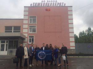 Молодые парламентарии Тамбовщины познакомились с работой завода «Тамбоваппарат»
