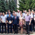 Состоялось торжественное вручение удостоверений о повышении квалификации сотрудникам Мичуринского завода «Прогресс»