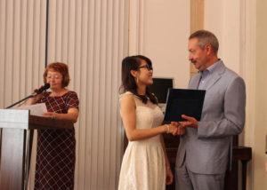 В ТГТУ впервые прошла церемония торжественного вручения дипломов об окончании аспирантуры