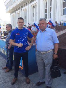 День флага вместе с тамбовчанами отметили члены Союза машиностроителей России