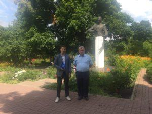 Сотрудники аппарата Тамбовского РО посетили дом-музей композитора Рахманинова