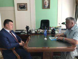Актуальные вопросы работы Тамбовского РО ООО «СоюзМаш России» обсуждались на встрече с губернатором