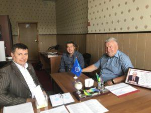 Руководство Тамбовского отделения Союза машиностроителей России обсудило работу общественных организаций с сопредседателем Тамбовского отделения ОНФ