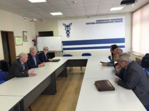 Представители Тамбовского Регионального отделения Союза машиностроителей России обсудили развитие промышленности