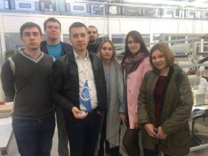 АО «Завод «Тамбоваппарат» посетили представители Всероссийской общественной организации «Молодая Гвардия Единой России»