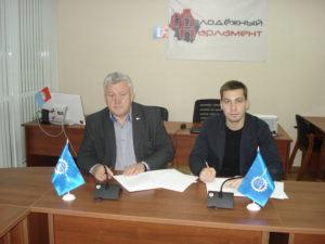 Подписано соглашение о сотрудничестве между Тамбовским РО Союза машиностроителей России и Молодежным парламентом Тамбовской области
