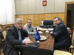 На Тамбовском пороховом заводе прошла встреча руководителей промышленных предприятий