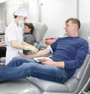 """В Первомайском районе прошла акция """"День донора"""""""