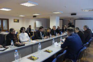 По инициативе Тамбовского Регионального отделения Союза машиностроителей России состоялась встреча представителей бизнес-сообщества Тамбовщины и Республики Болгария