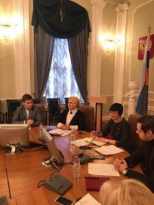 В общественной палате обсудили закон о молодежи при участии представителей Союза машиностроителей России