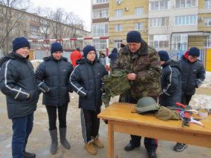 Военно-спортивная игра состоялась при участии представителей Тамбовского отделения Союза машиностроителей России