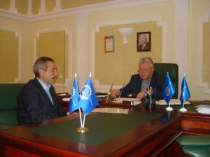 Состоялась деловая встреча руководства Тамбовского отделения «СоюзМаш России» и ТГТУ