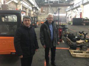 Представитель Тамбовского отделения Союза машиностроителей обсудил сотрудничество с болгарскими коллегами на АО «БАЛКАНКАР РЕКОРД»