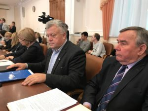 Представители Тамбовского регионального отделения Союза машиностроителей России приняли участие в заседании трехсторонней комиссии