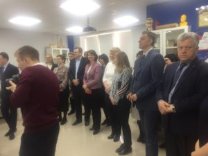 Представители Тамбовского отделения Союза машиностроителей России участвовали в открытии Центра прототипирования
