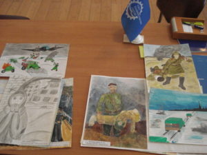 Определены победители и призеры конкурса детского рисунка « О Победе 1945-го»