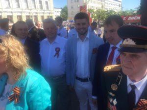 Представители Тамбовского отделения «СоюзМаш России» вместе с  жителями области отметили День Победы