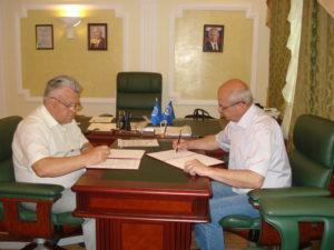 Соглашение о сотрудничестве между Тамбовским региональным отделением Общероссийской общественной организации «Союз машиностроителей России» и Региональным общественным движением активных доноров Тамбовской области «ДОНОРЫ ТАМБОВЩИНЫ» было подписано 16 мая 2018 года
