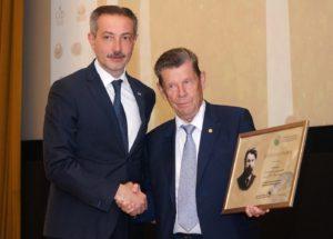 Ректор ТГТУ получил награду за поддержку и продвижение идей В.И.Вернадского