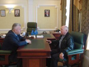 Развитие патриотического воспитания обсудили в Тамбовском отделении Союза машиностроителей России