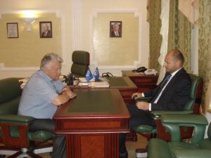 Руководитель Тамбовского регионального отделения «СоюзМаш России» и генеральный директор ПАО «Электроприбор» обсудили совместную работу