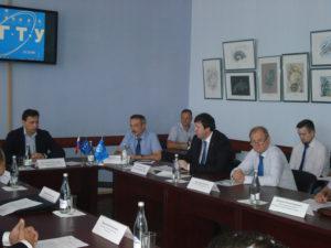 Заседание круглого стола на тему «Диверсификация промышленного производства Тамбовской области» состоялась в Тамбовском государственном техническом университете