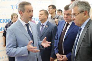 Президент Российской академии наук Александр Сергеев прибыл с рабочим визитом в Тамбовскую область
