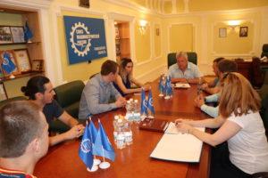 Команда аспирантов Тамбовского государственного технического университета принимает участие в VII Международном молодежном промышленном Форуме «Инженеры будущего-2018», который проходит в Ульяновской области