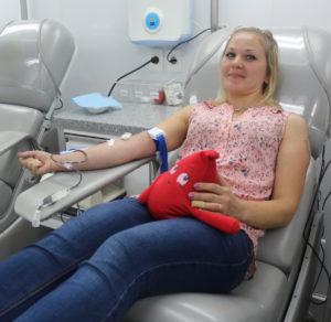Сотрудники завода «Прогресс» сдали кровь для тамбовских больниц