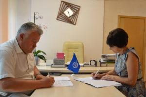 Подписано соглашение о сотрудничестве между ГБУЗ «Тамбовская областная станция переливания крови» и Тамбовским отделением ООО «Союз машиностроителей России»