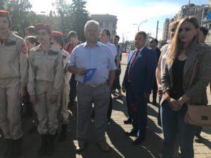 Представители Союза машиностроителей России в Тамбовской области приняли участие в памятных мероприятиях, посвященных  Зое Космодемьянской