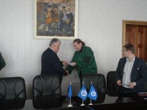 Сотрудникам завода «Милорем» вручены членские билеты Союза машиностроителей России