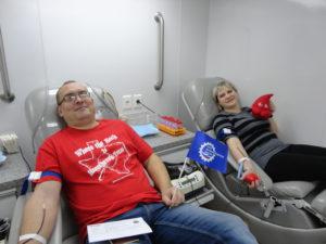 В ноябре текущего года по инициативе Тамбовского регионального отделения ООО «СоюзМаш России» на станции переливания крови прошла массовая акция по сдаче донорской крови работниками 11 промышленных предприятий области