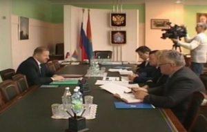 Прошла рабочая встреча главы администрации Тамбовской области и генерального директора АО «Концерн «Созвездие»