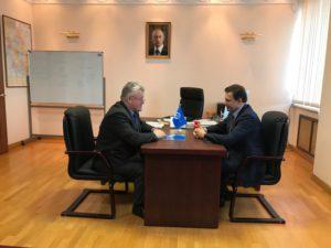 Первый заместитель главы администрации Тамбовской области отметил успехи Тамбовского регионального отделения ООО «СоюзМаш России»