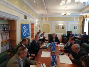 В Тамбовском региональном отделении Союза машиностроителей России прошло заседание Регионального совета