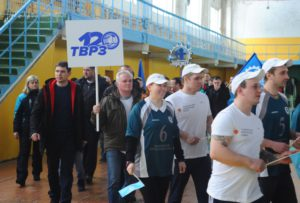 В ТГТУ прошла Спартакиада среди крупнейших предприятий региона