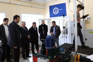 Руководители ТВРЗ и Тамбовского отделения Союза машиностроителей посетили научные лаборатории ТГТУ