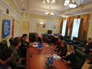 В Тамбовском региональном отделении состоялась встреча будущих участников форума «Инженеры будущего-2019»