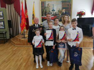 В Музейно-выставочном центре Тамбовской области состоялось подведение итогов конкурса детского рисунка «О Победе 1945-го» и награждение призеров и участников